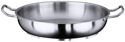 Serie 2100 Bratpfanne / Paellapfanne mit zwei seitlichen Griffen, Boden Durchmesser 36 cm, Innen Durchmesser 46