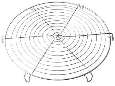 Kuchenrost, elektropoliert, Durchmesser 32cm, Höhe 2cm