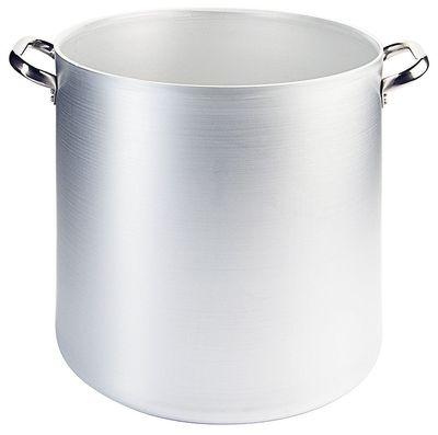 Marmite 36 cm en aluminium, hauteur 35cm, contenu : 36 litres