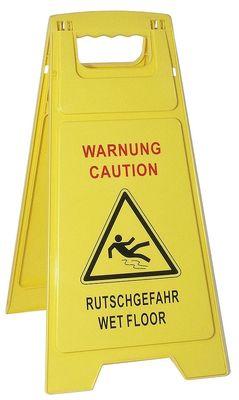 Warnschild Rutschgefahr