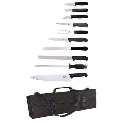 Victorinox 11-teiliges Messerset und Tasche