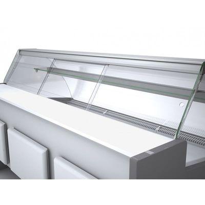 Porte coulissante en plexiglas Profi100, verre frontal incurvé