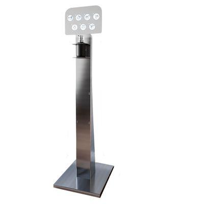Colonne de désinfection avec distributeur à pompe