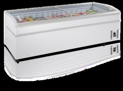 Supermarkt Kombi-Gefriertruhe SHALLOW 250-CF-P