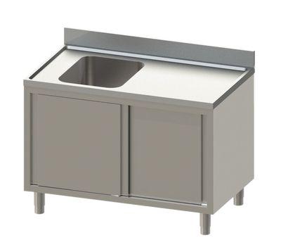 Spülschrank Eco 14x6 mit 1 Becken links