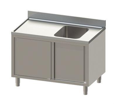 Spülschrank Eco 14x6 mit 1 Becken rechts