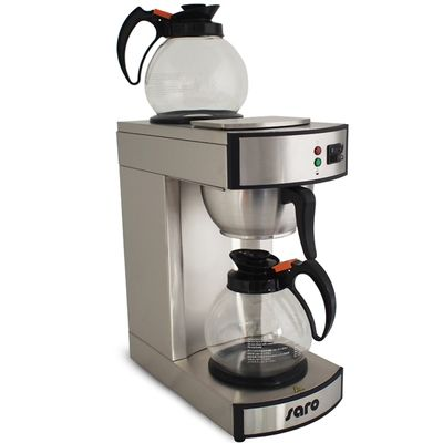 Kaffeemaschine SAROMICA K 24 T inkl. 2 Glaskannen