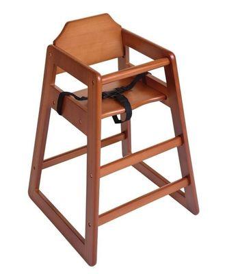 Chaise haute Bolero, brun foncé