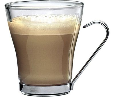 Bormioli Rocco Oslo - tasse à cappuccino 22 cl avec support métallique