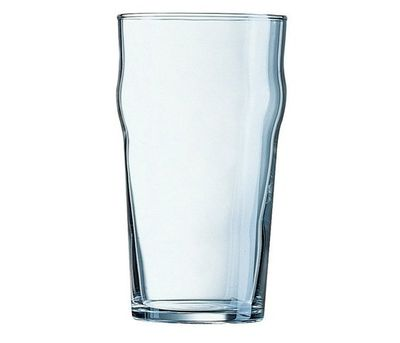 Verre à bière empilable, 61 cl - repère de remplissage à 0,4 litre - Arcoroc Nonic