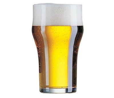 Verre à bière empilable, 34 cl - avec repère de remplissage à 30 cl - Arcoroc Nonic