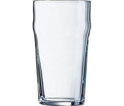 Verre à bière empilable, 57 cl - repère de remplissage à 0,4 litre - Arcoroc Nonic