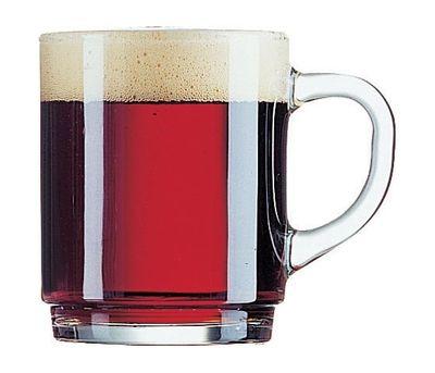 Tasse de thé / vin chaud Arcoroc, empilable, 25 cl - ligne de remplissage à 0,2 litre