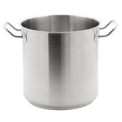 Pot de soupe haut en acier inoxydable Vogue, 30 cm