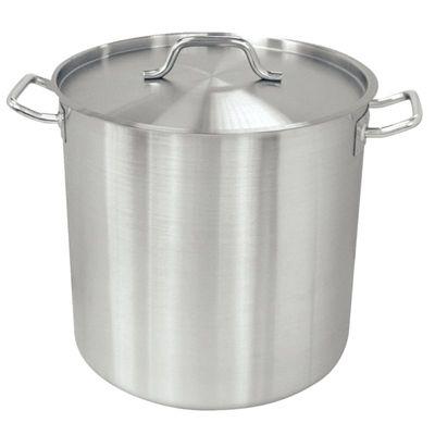 Pot de soupe haut en acier inoxydable Vogue, 36 cm