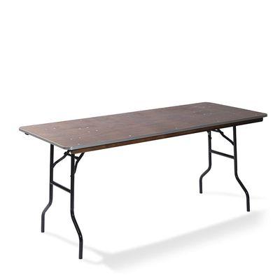 Table de banquet rectangulaire 122x76cm