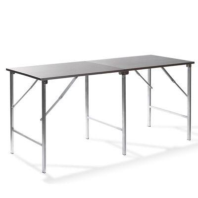 Table de travail pliable en acier inoxydable