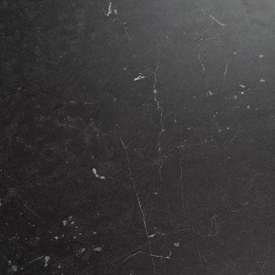 Plateau de table Davanti noir carré 60x60 cm
