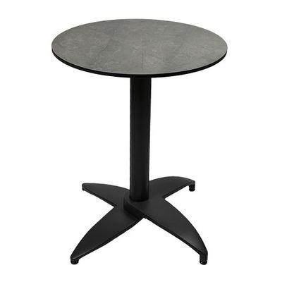Plateau de table Enfiber gris rond 60 cm ⌀