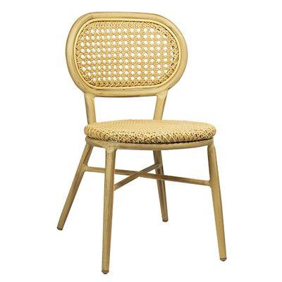 Chaise de terrasse Jay beige – 4 pièces