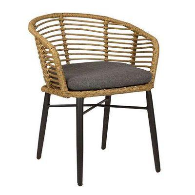 Chaise de terrasse Rhea nature – 4 pièces