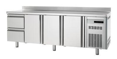 Table congélation Premium 3/2 avec dosseret