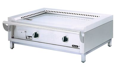 Teppanyaki Grill - GAS - TP 12/JGP Edelstahlgrillplatte - Tischgerät