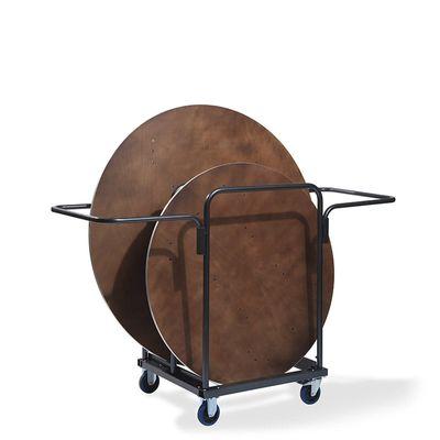 Chariot de transport pour maximum 8 tables rondes de banquet