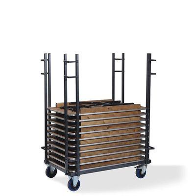 Chariot de transport, pour les tables de banquet rectangulaires