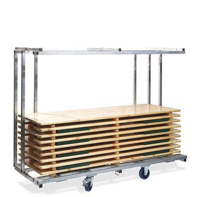 Transportwagen für bis zu 10 Festzelgarnituren,(BxTxH) 2315x590/890x1805 mm