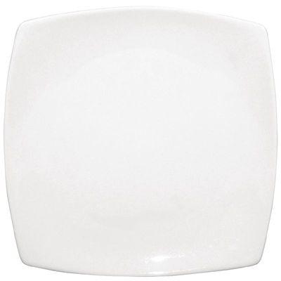 Olympia Whiteware Teller weiß abgerundete Ecken 18,5 cm