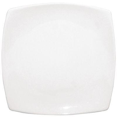 Olympia Whiteware Teller weiß abgerundete Ecken 24 cm