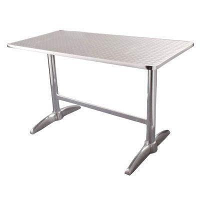 Tisch Bolero Edelstahl 120x60cm