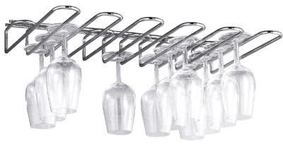 Porte-verre pour 5 rangées de verres, longueur 45 cm, profondeur 31cm, nombre de compartiments 5
