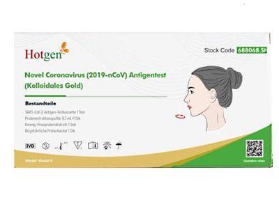 Test antigénique nasal rapide HOTGEN pour les non-spécialistes