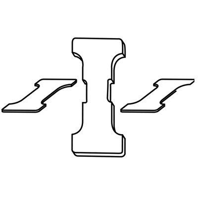 Einlage für quadratische Elektroplatte V 70/80 IMP
