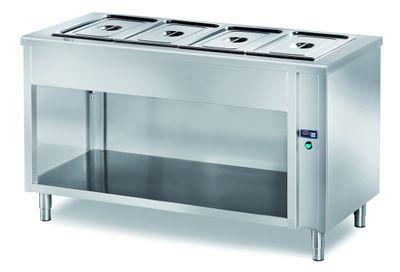 Table chauffante de libre-service PROFI ouverte 2000x700x890 – 5x GN 1/1