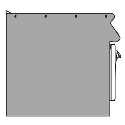 Seitenabschlusselement rechts VS 70 PLDX