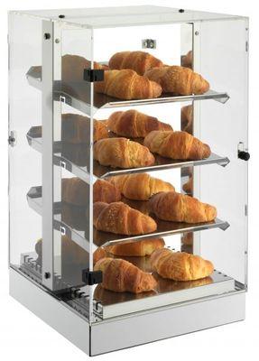 Tour-vitrine de maintien au chaud de pâtisseries Neumärker