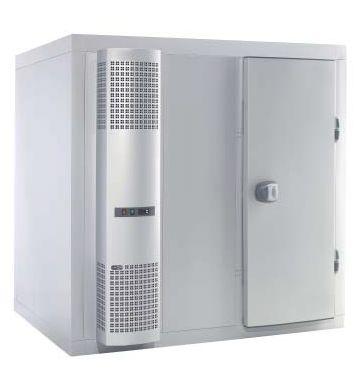 Chambre froide GGG ECO, paroi de 100mm d'épaisseur - 2640 x 2640 x 2150
