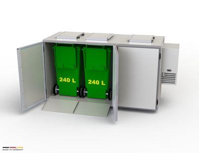 Refroidisseur de déchets Hefa 3x240L