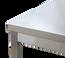 Edelstahl Arbeitsschrank Profi mit Schiebetüren 1400 x 700 mm