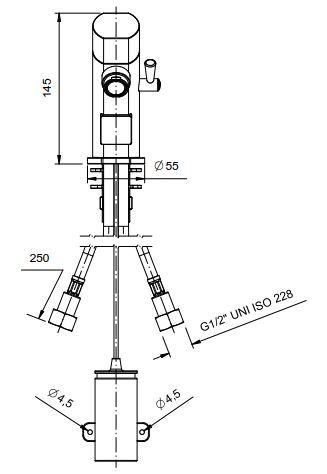 Sensor Mischbatterie Profi 1000