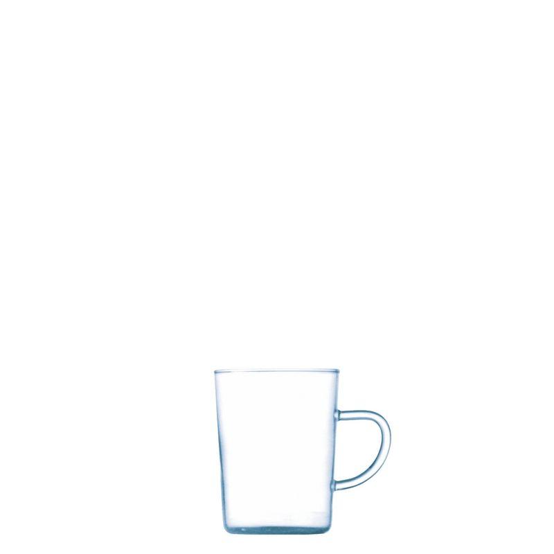 Bohemia Cristal Teeglas Jenaer Art 25cl mit Henkel
