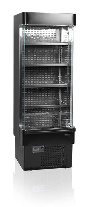 Wandkühlregal MD700XB schwarz