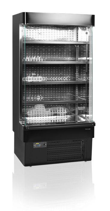 Wandkühlregal MD1000XB schwarz