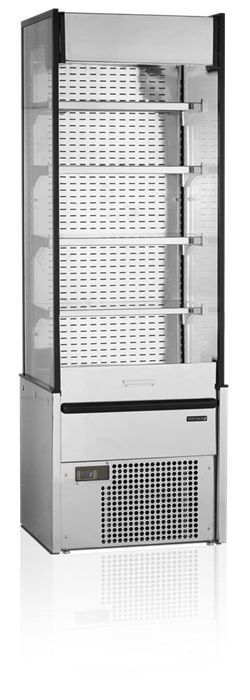 Wandkühlregal MD600X-SLIM Edelstahl