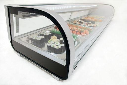 Bartscher Sushi-Vitrine 5 x 1/2 GN