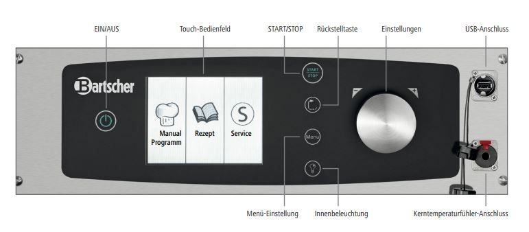 Kombidämpfer Kompakt T 6110 - Touch