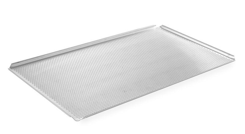Backblech Aluminium, GN 1/1, 530x325x10 mm, 4 Aufkantungen
